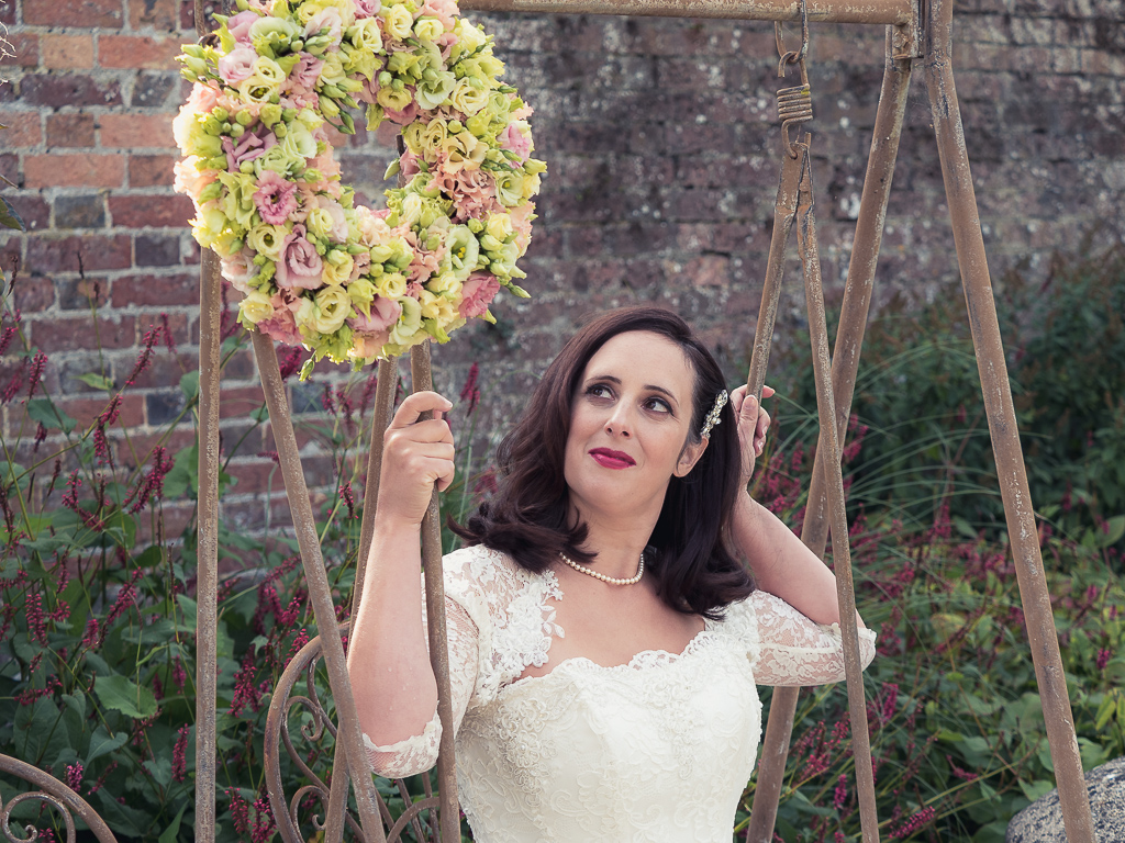 Traditional vintage styled wedding photoshoot at The Orangery Suite, photographer credit Dom Brenton Photography (48)