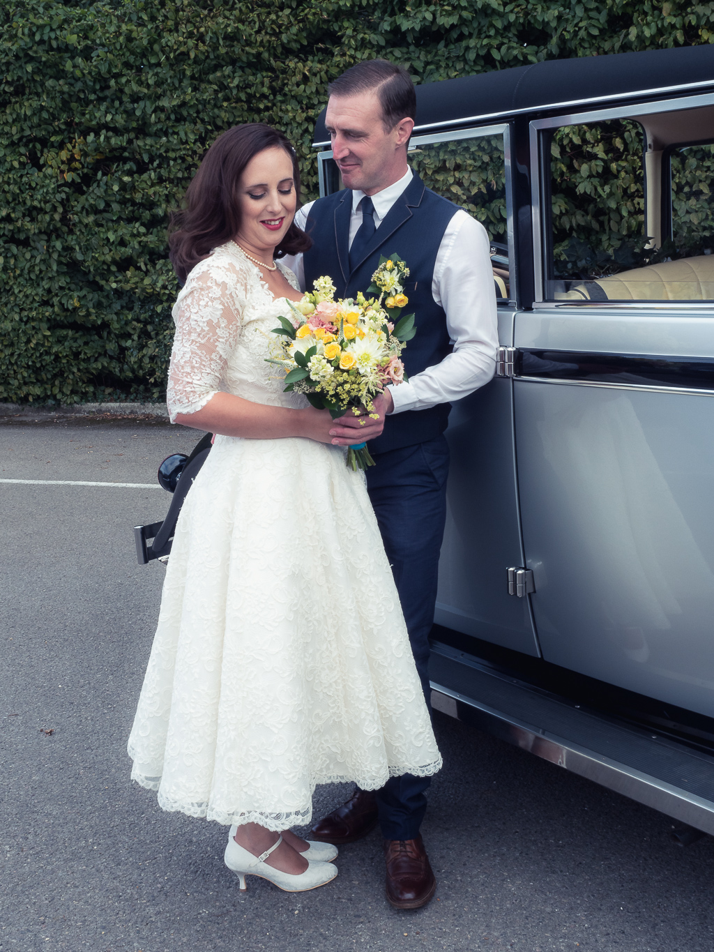 Traditional vintage styled wedding photoshoot at The Orangery Suite, photographer credit Dom Brenton Photography (47)