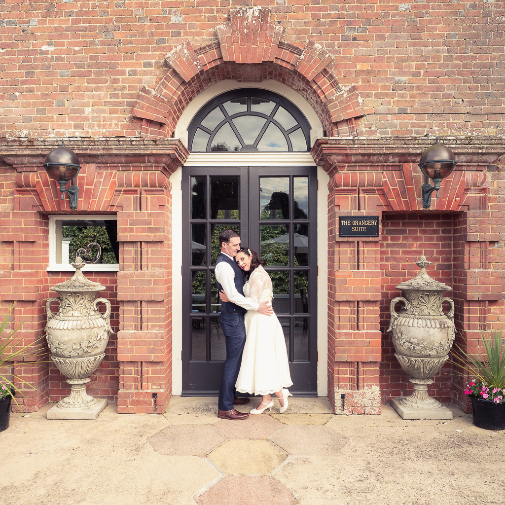 Traditional vintage styled wedding photoshoot at The Orangery Suite, photographer credit Dom Brenton Photography (43)