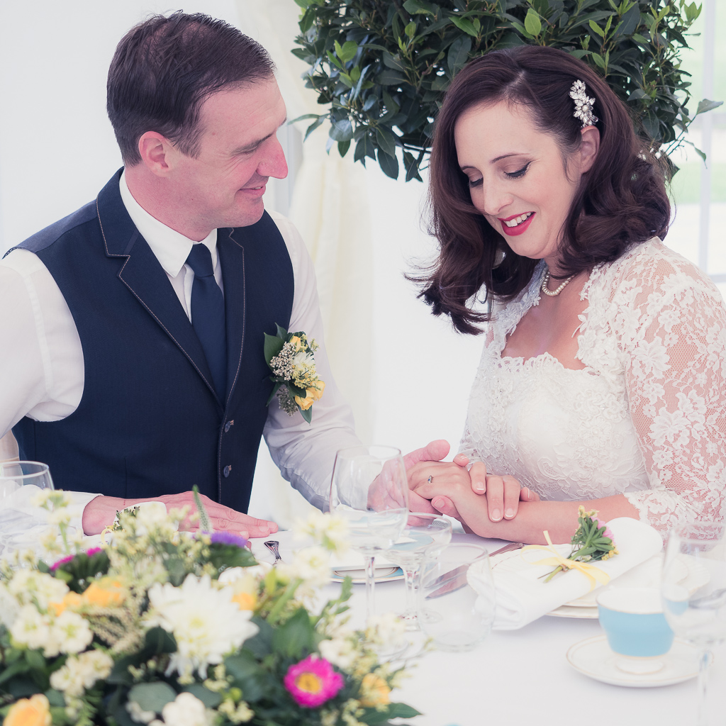 Traditional vintage styled wedding photoshoot at The Orangery Suite, photographer credit Dom Brenton Photography (39)