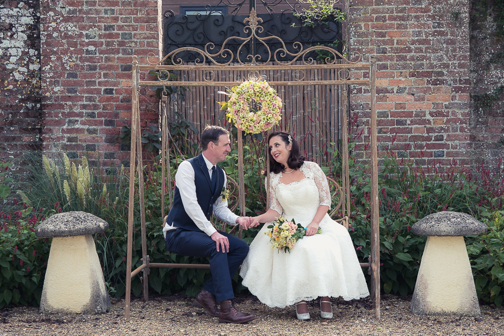 Traditional vintage styled wedding photoshoot at The Orangery Suite, photographer credit Dom Brenton Photography (37)