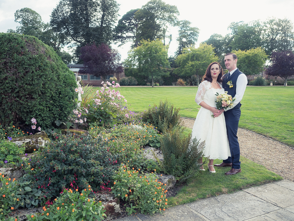 Traditional vintage styled wedding photoshoot at The Orangery Suite, photographer credit Dom Brenton Photography (36)