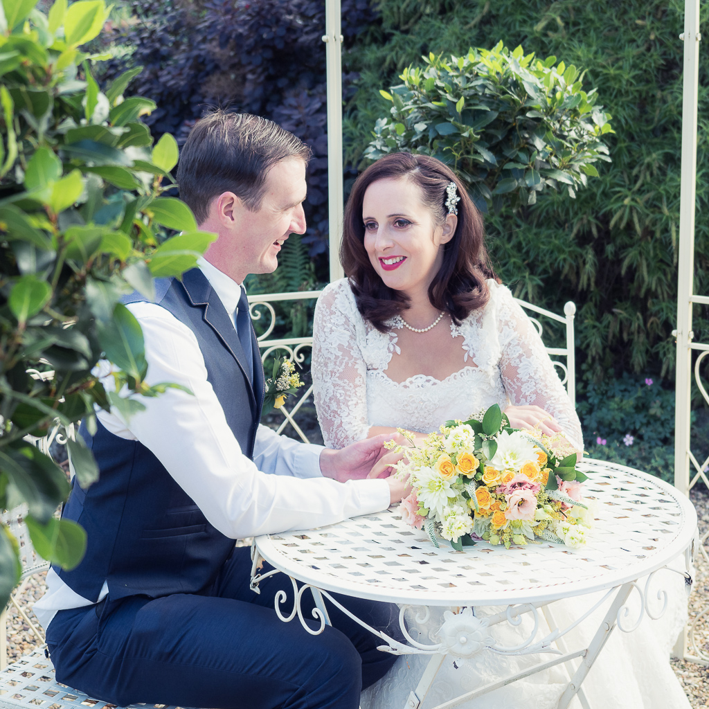 Traditional vintage styled wedding photoshoot at The Orangery Suite, photographer credit Dom Brenton Photography (32)