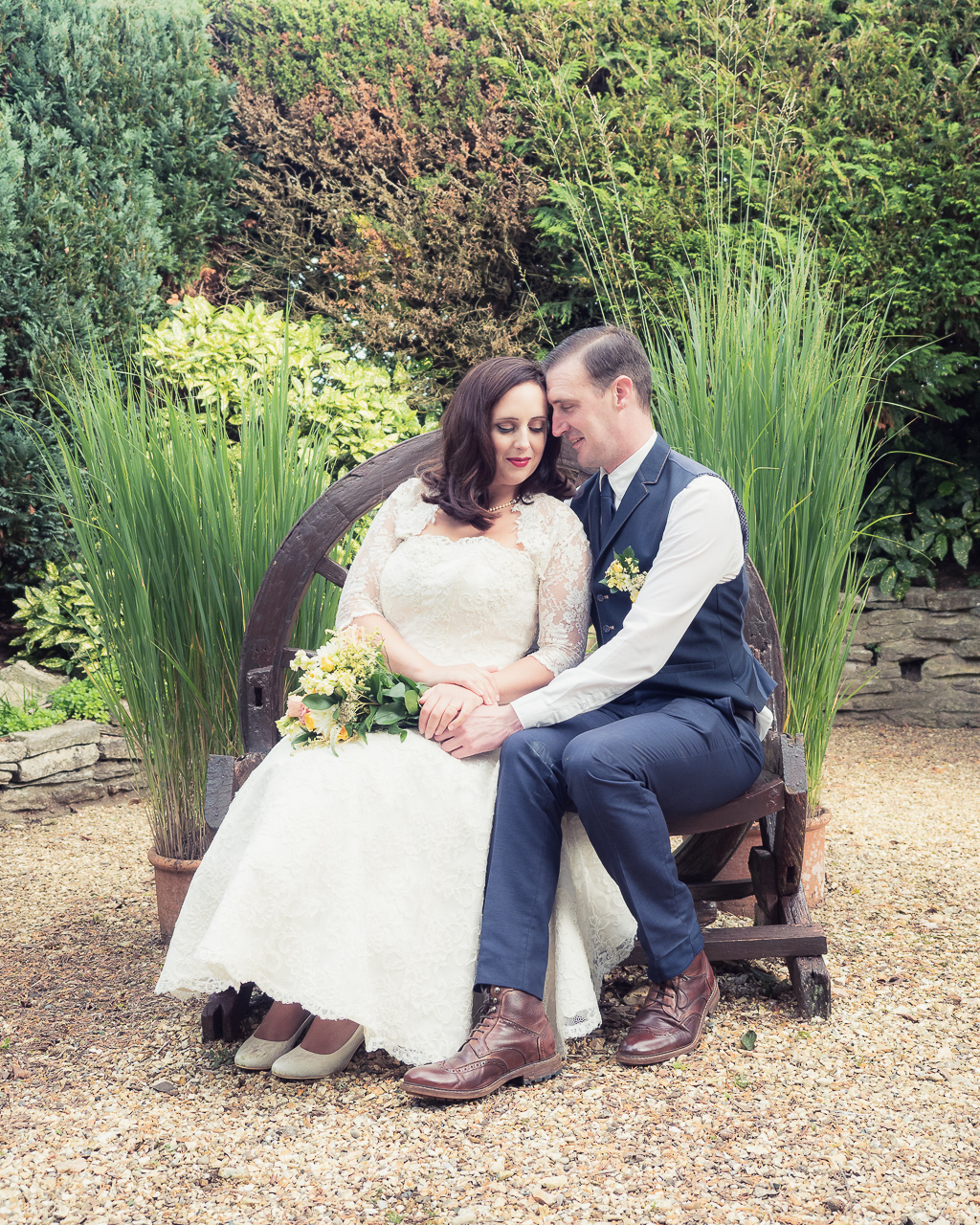 Traditional vintage styled wedding photoshoot at The Orangery Suite, photographer credit Dom Brenton Photography (29)