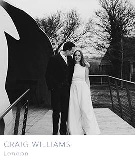 Craig Williams, London wedding photographers