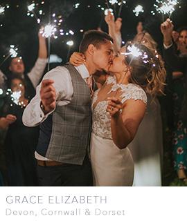 Devon Cornwall and Dorset wedding photographer Grace Elizabeth