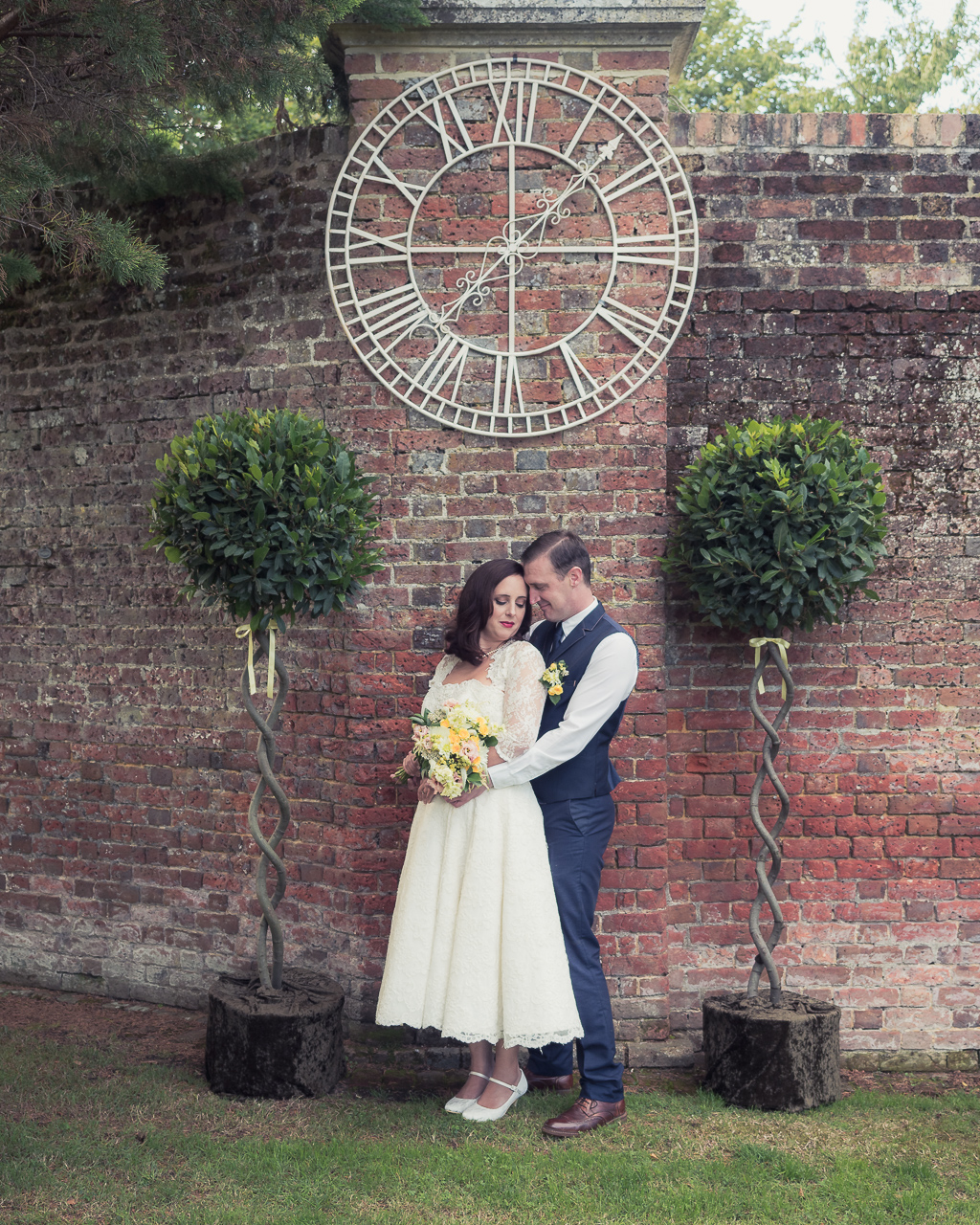 Traditional vintage styled wedding photoshoot at The Orangery Suite, photographer credit Dom Brenton Photography (14)