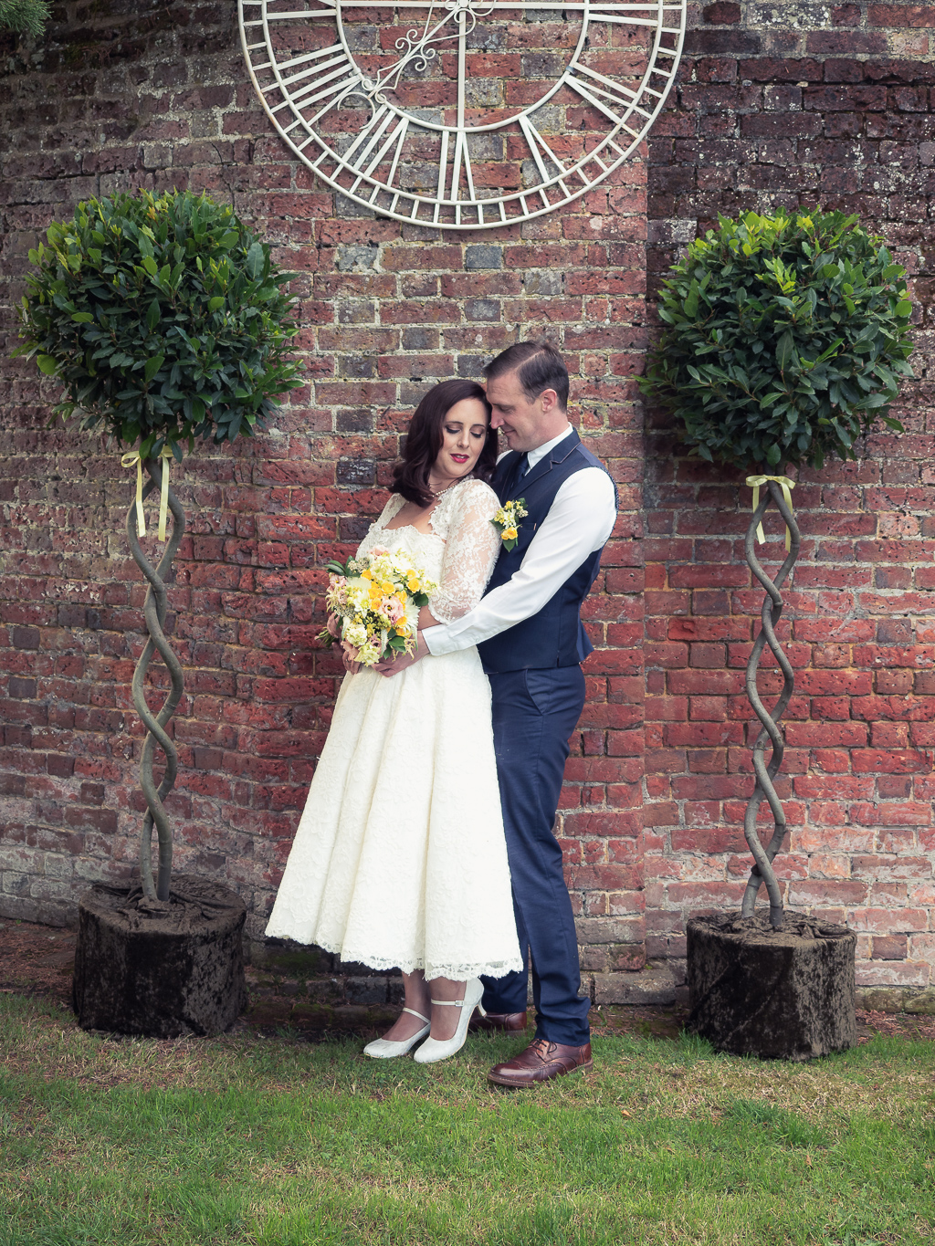 Traditional vintage styled wedding photoshoot at The Orangery Suite, photographer credit Dom Brenton Photography (13)