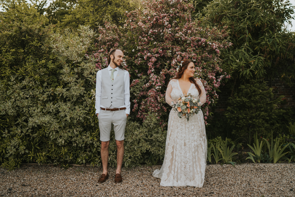 Hayley and Sam's real wedding at The Secret Garden, Kent Captured by Grace Elizabeth Photography