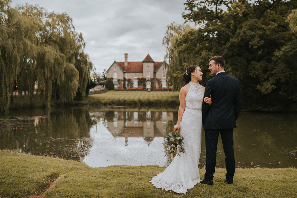 Jane and Patrick's real wedding at Smeetham Hall Barn, Suffolk Captured by Grace Elizabeth Photography