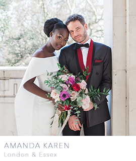 Amanda Karen is a London wedding photographer