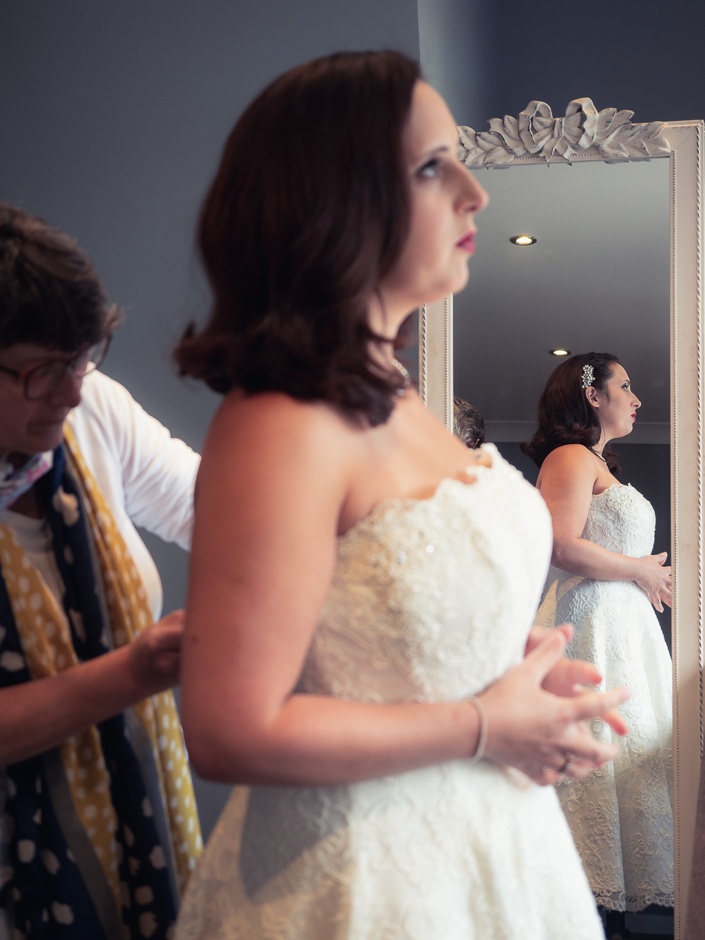 Traditional vintage styled wedding photoshoot at The Orangery Suite, photographer credit Dom Brenton Photography (12)