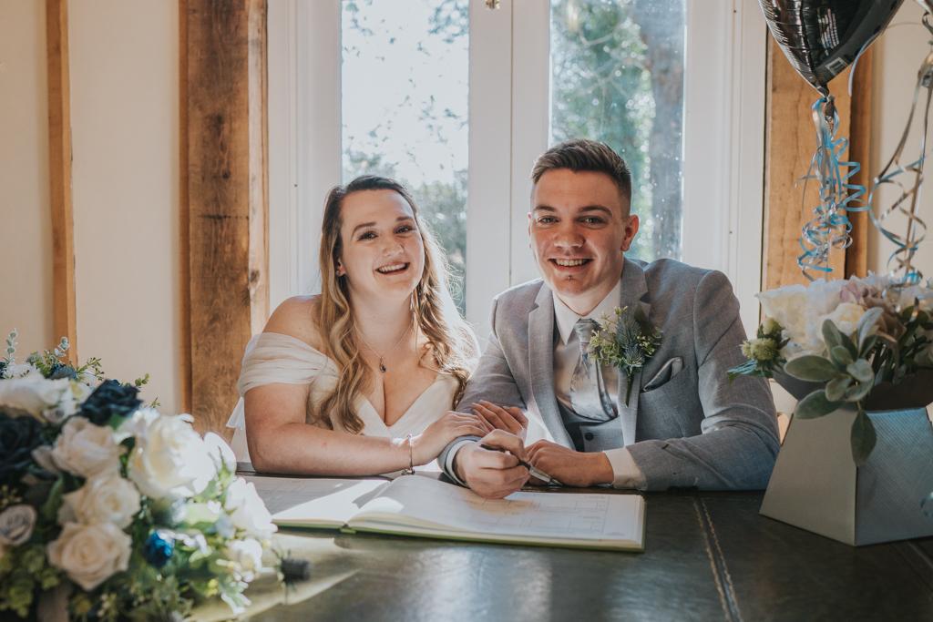 Danielle & Lewis's beautiful 2020 wedding story, with Grace Elizabeth (23)