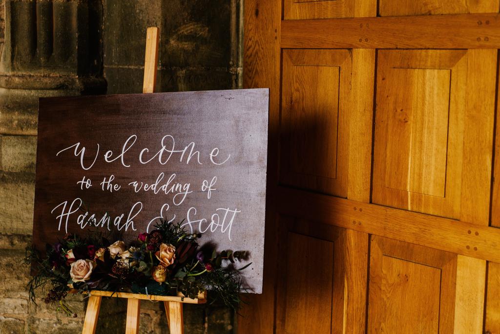 Hannah & Scott's stunning winter wedding at Pentney Abbey, with Rob Dodsworth Photography (8)