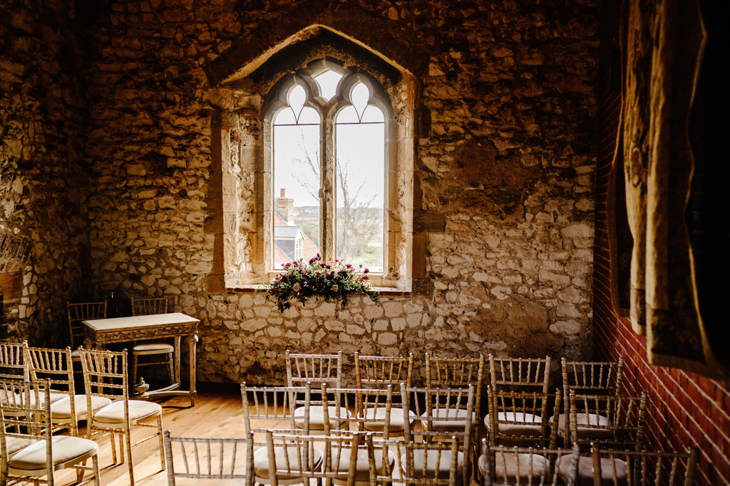 Hannah & Scott's stunning winter wedding at Pentney Abbey, with Rob Dodsworth Photography (10)