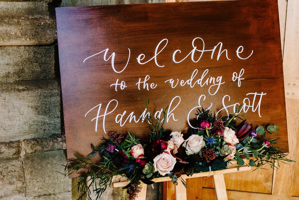 Hannah & Scott's stunning winter wedding at Pentney Abbey, with Rob Dodsworth Photography (15)