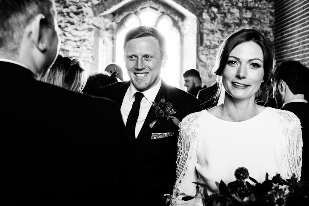 Hannah & Scott's stunning winter wedding at Pentney Abbey, with Rob Dodsworth Photography (22)