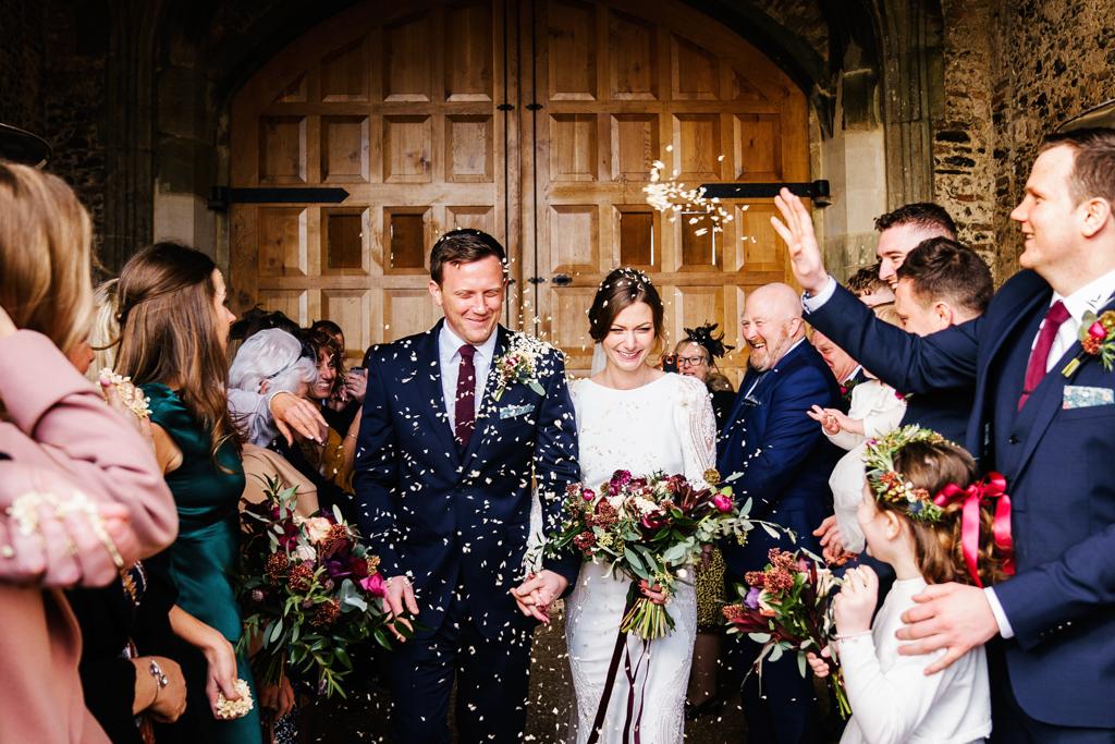 Hannah & Scott's stunning winter wedding at Pentney Abbey, with Rob Dodsworth Photography (23)