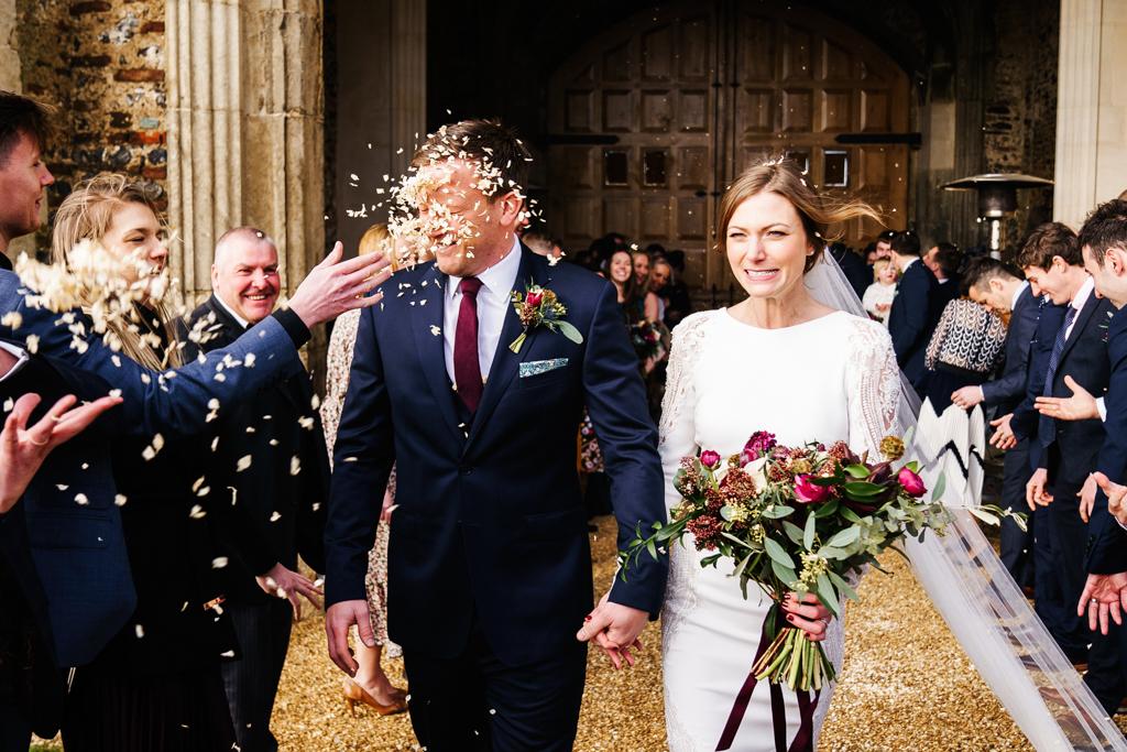 Hannah & Scott's stunning winter wedding at Pentney Abbey, with Rob Dodsworth Photography (24)