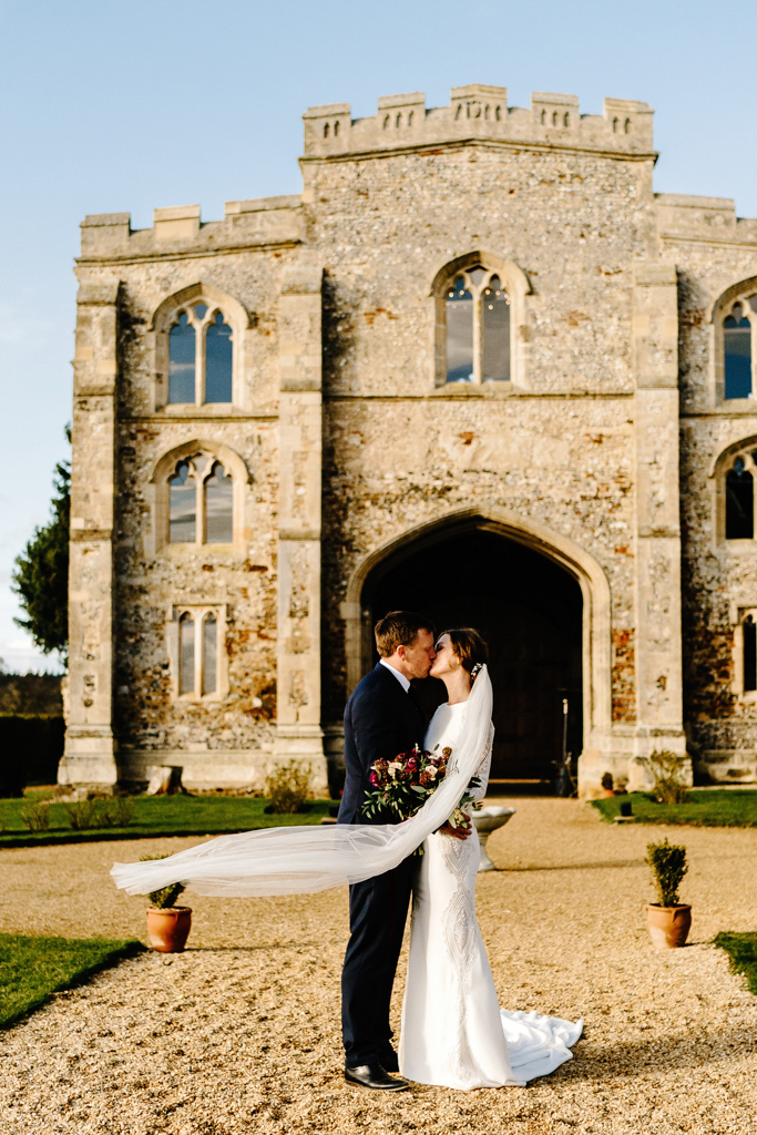 Hannah & Scott's stunning winter wedding at Pentney Abbey, with Rob Dodsworth Photography (28)