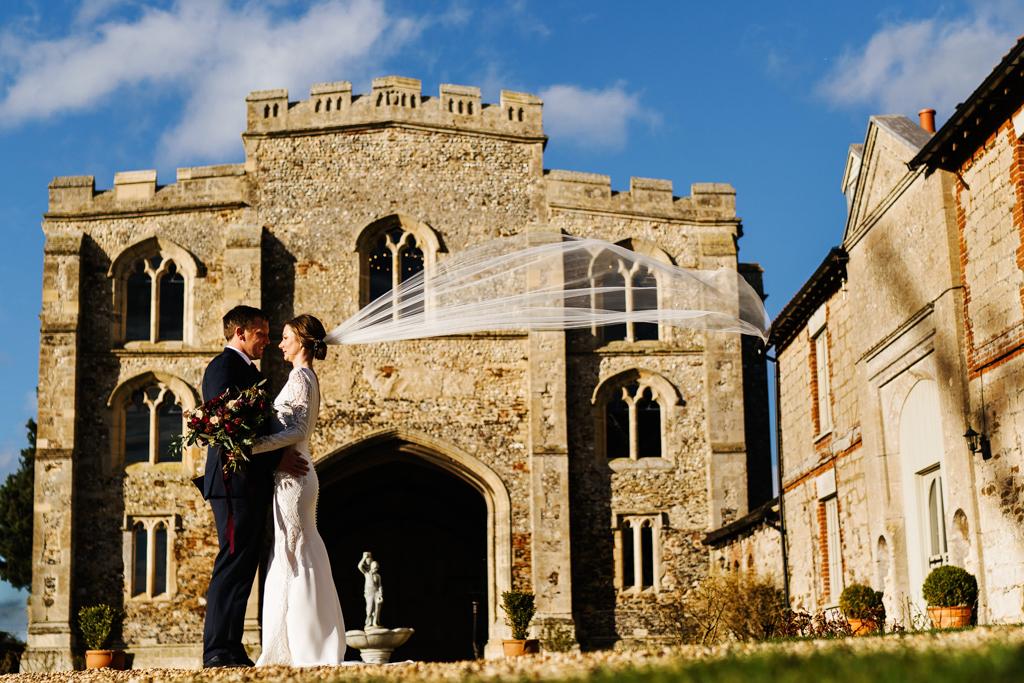 Hannah & Scott's stunning winter wedding at Pentney Abbey, with Rob Dodsworth Photography (29)