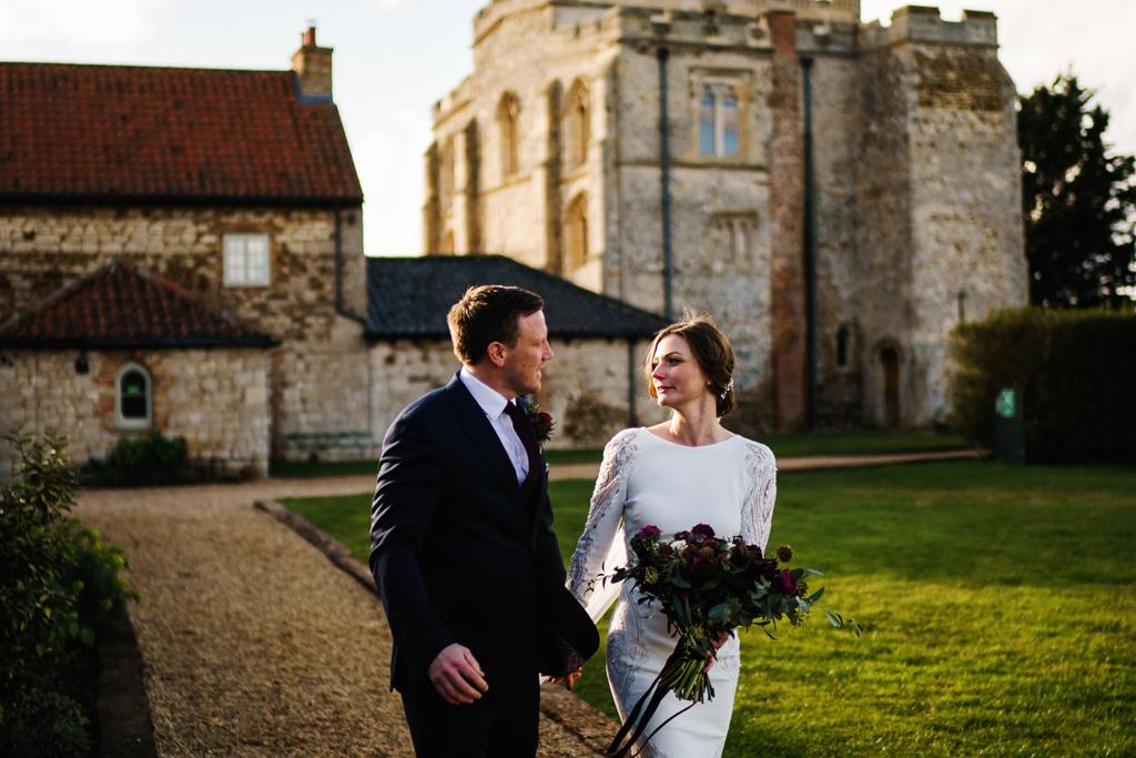 Hannah & Scott's stunning winter wedding at Pentney Abbey, with Rob Dodsworth Photography (30)