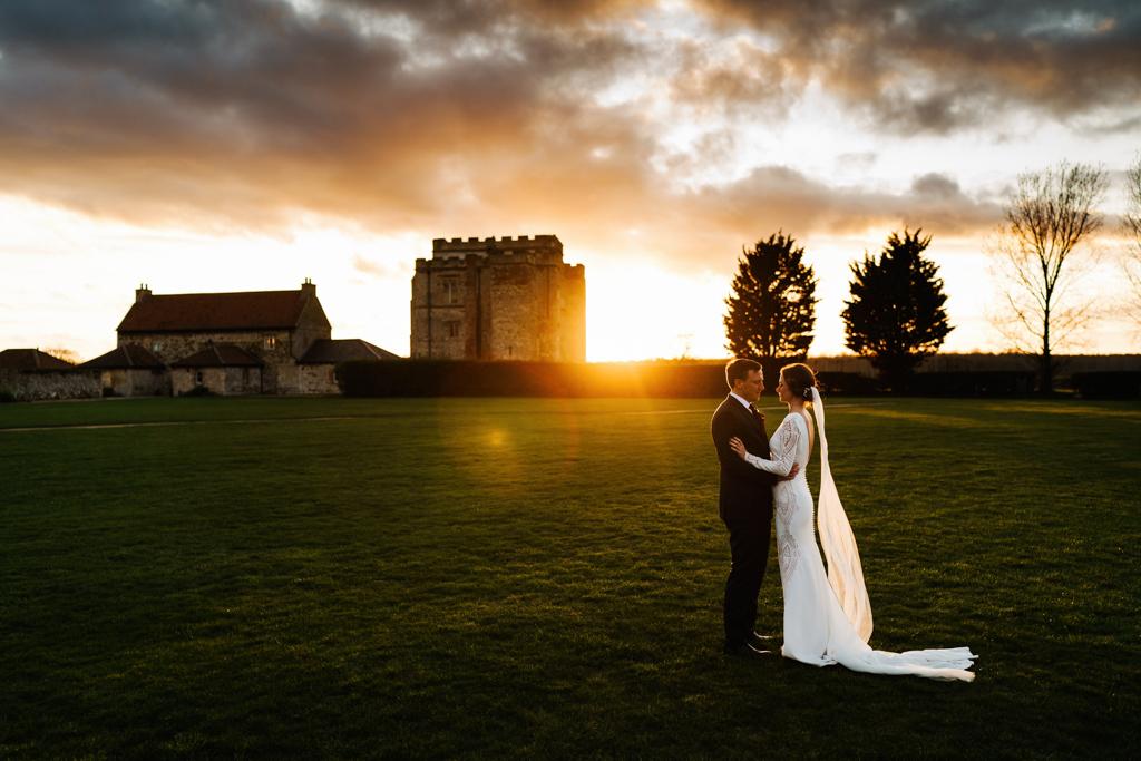 Hannah & Scott's stunning winter wedding at Pentney Abbey, with Rob Dodsworth Photography (34)