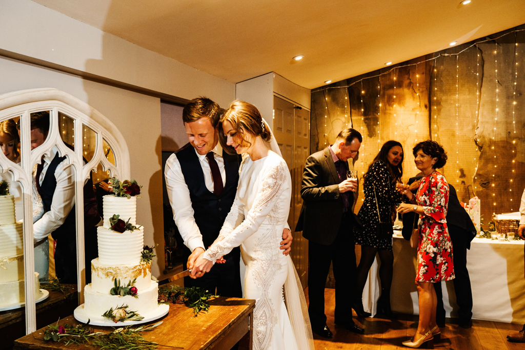Hannah & Scott's stunning winter wedding at Pentney Abbey, with Rob Dodsworth Photography (37)