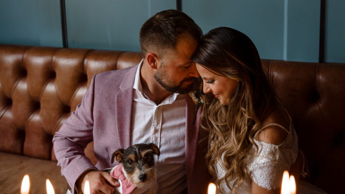 A loved-up Winchester city elopement - with adorable dogs! Photographer credit Katherine and her Camera (33)