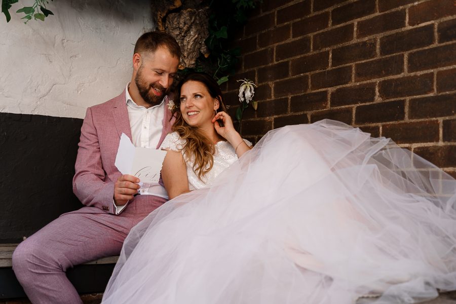 A loved-up Winchester city elopement - with adorable dogs! Photographer credit Katherine and her Camera (32)