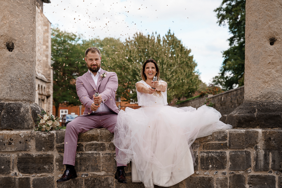 A loved-up Winchester city elopement - with adorable dogs! Photographer credit Katherine and her Camera (41)