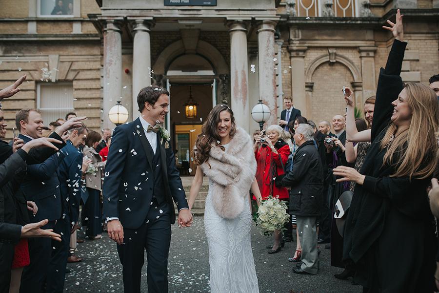 Winter wedding by Yeti Photography