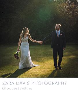 Gloucestershire wedding photographers Zara Davis Photography
