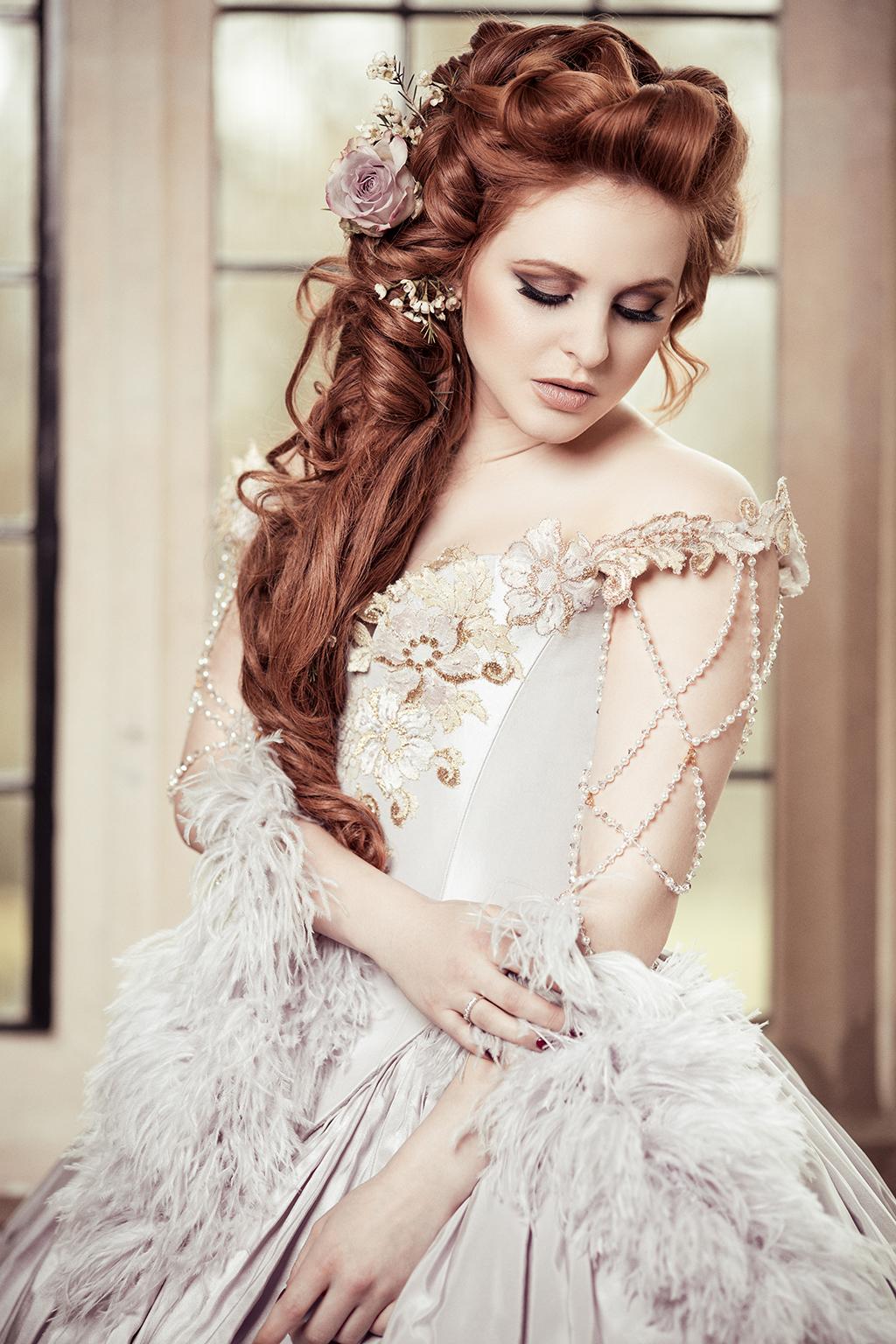 wedding hair and makeup by Gail Gardner