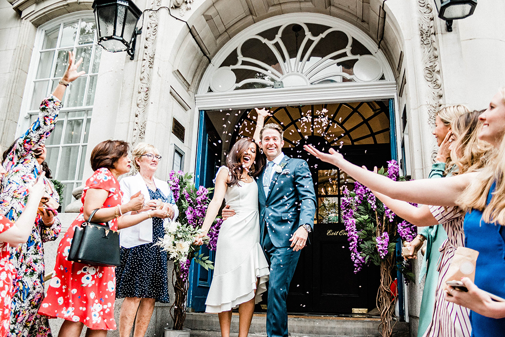 Wedding at Chelsea Old Town Hall, captured by Queen Bea Photography