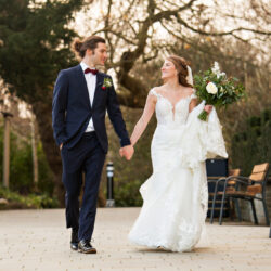 Claire & Andy's classic, timelessly romantic Bristol wedding, with Martin Dabek Photography