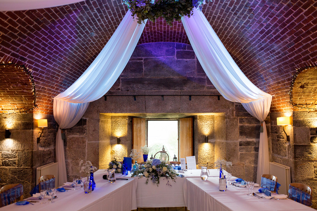 Polhawn fort wedding photography by Cornwall wedding photographer Martin Dabek