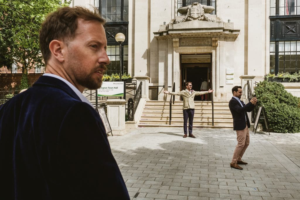 down to earth authentic Islington wedding with beautiful photography by York Place Studios