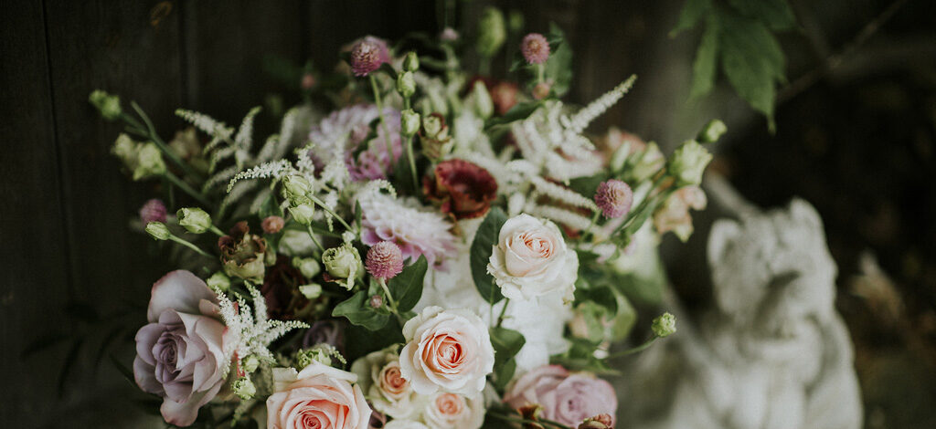 Floral designs by Fantail Designer Florist, image credit Key Reflections Photography