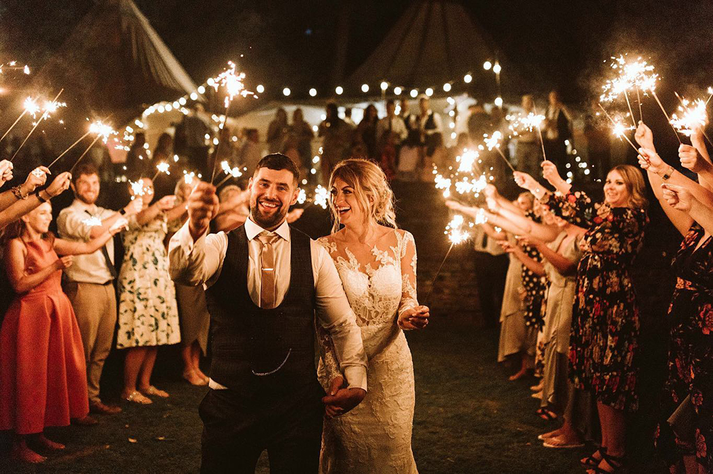 Garden weddings UK tipi hire from Yorkshire