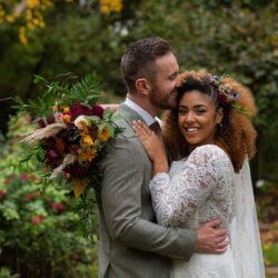 Rich autumnal wedding styling inspiration from The Hundred House, with Nicola Gough Photography