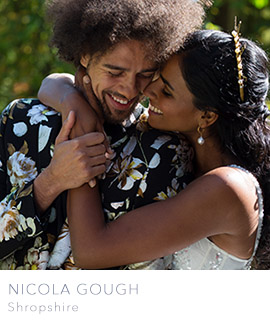 Shropshire wedding photographer Nicola Gough