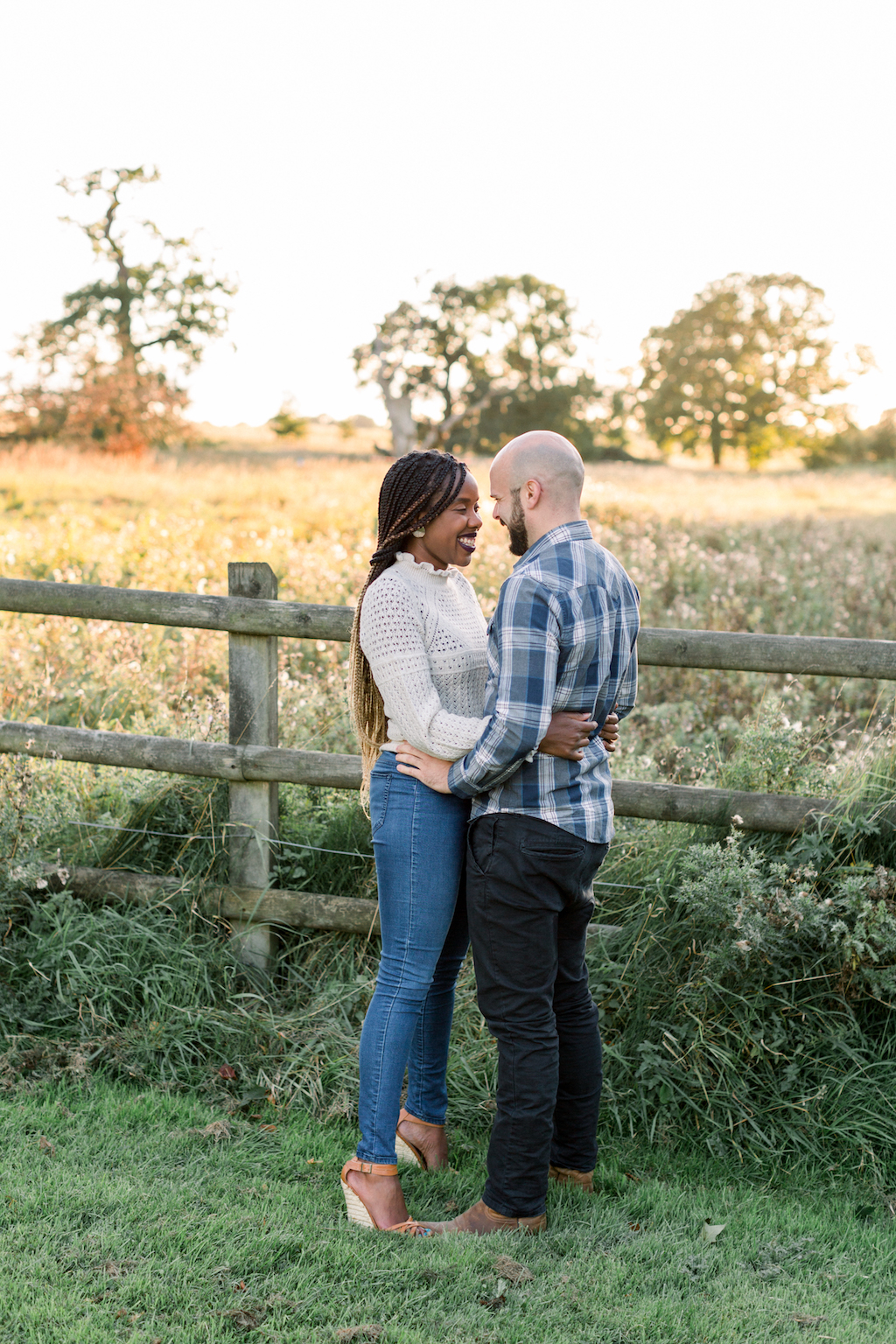 golden hour pre-wedding photography, Hannah K Photography
