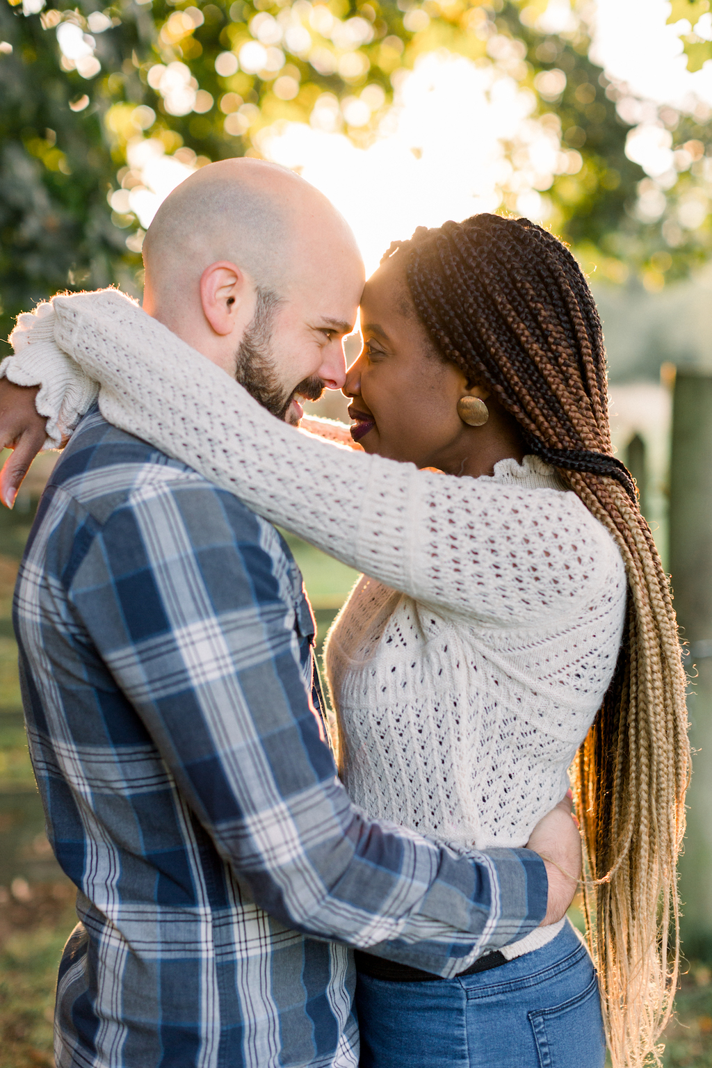 romantic outdoor photoshoot for engaged couples, Hannah K Photography