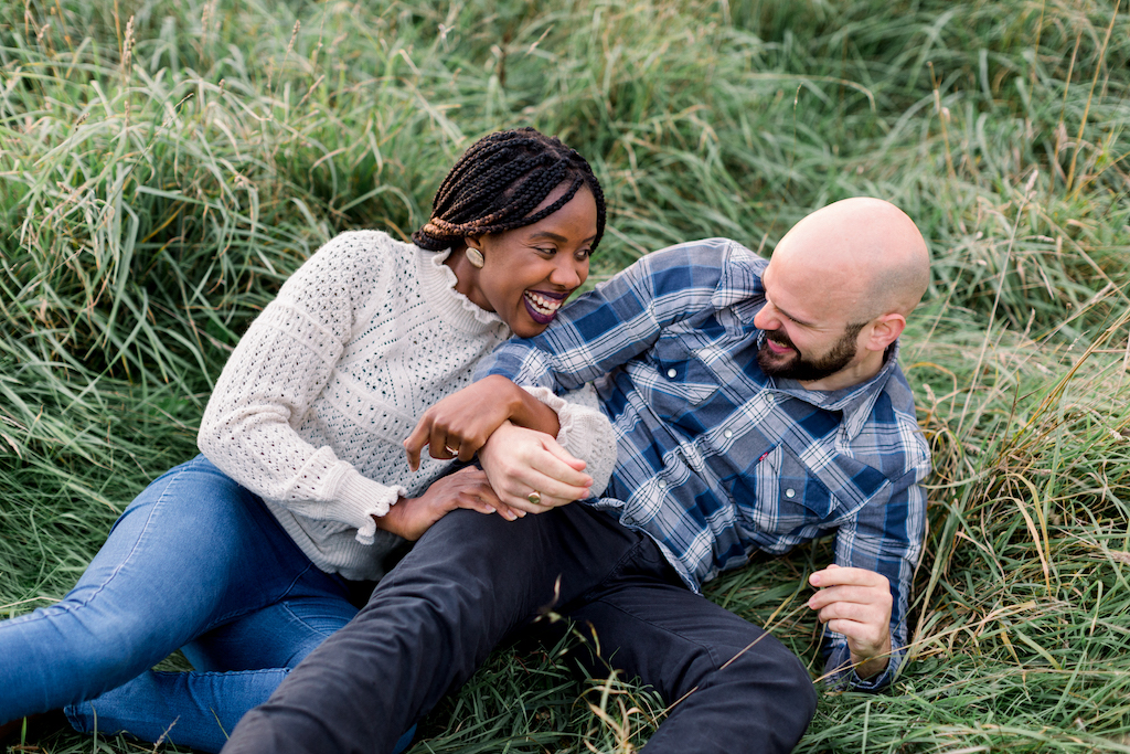 Romantic couples engagement shoot, Hannah K Photography