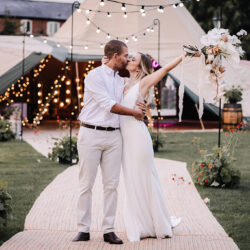 Advice for Couples Looking to hire a Tipi for their Wedding