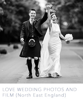 North East England wedding photography by Love Wedding Photos and Film