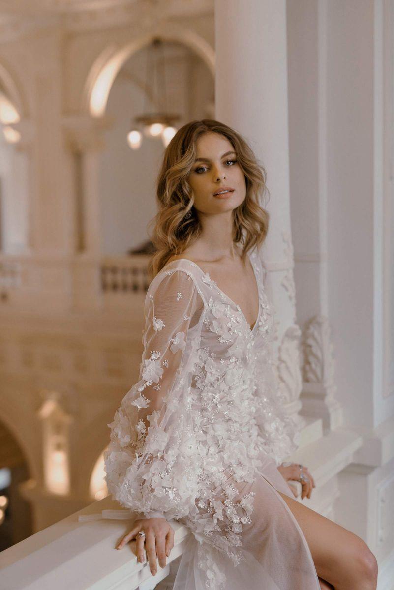 Bridal dress by Karin Rom