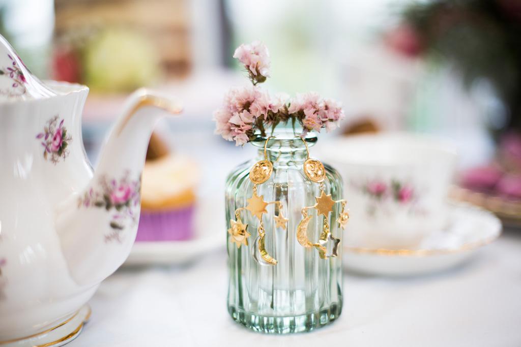 vintage wedding styling, photographer credit SE Photo