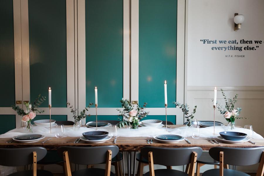 sassy modern bridal style from Stoke Newington with Amanda Karen Photography